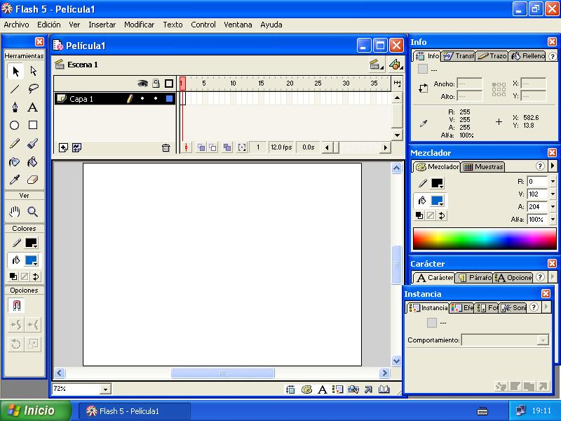 Macromedia Flash 5 Portable « El Softwero