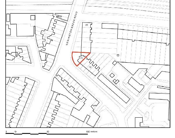 Casa 76A Newington Green Road - Amenity Space