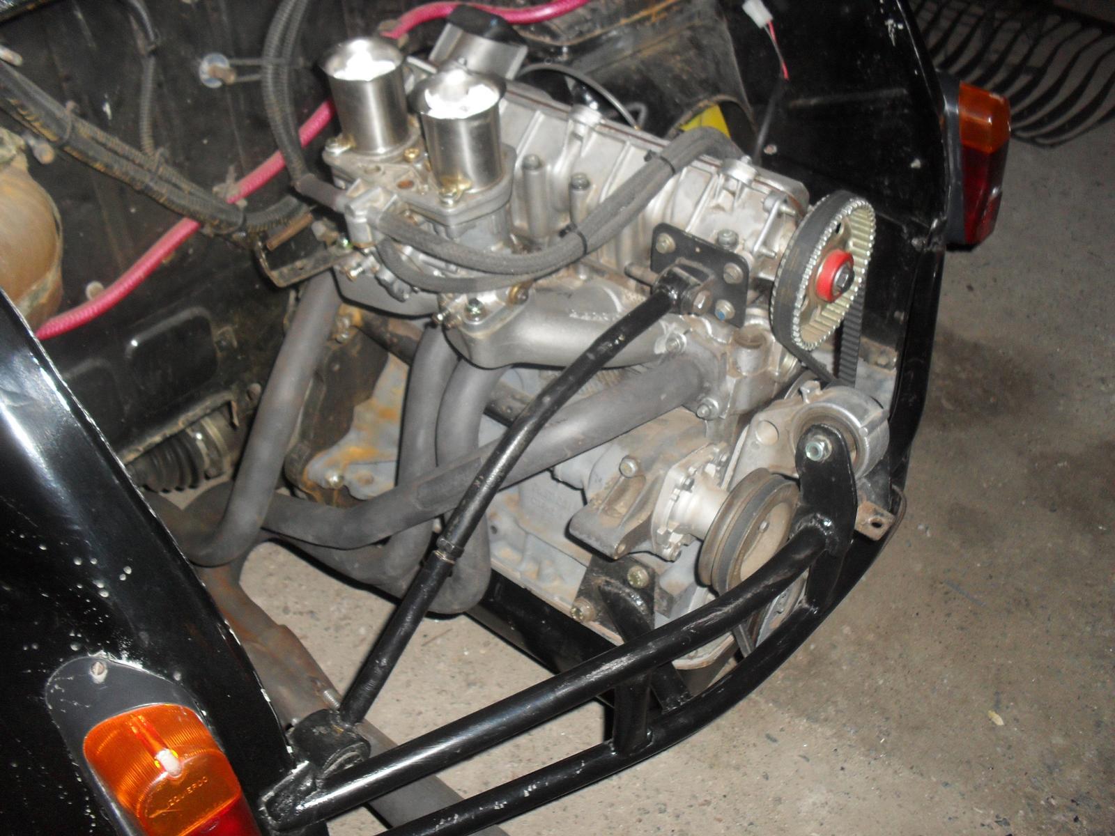 Fotos del Fiat 600 con motor 1.6