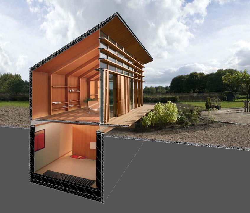 Light Catcher House, Rooijakkers + Tomesen Architecten, diseño, arquitectura, casas, sustentabilidad