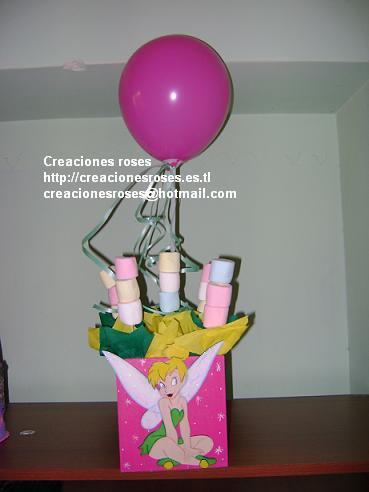 centros de mesa para fiestas infantiles. Elaboramos cotillones, centros