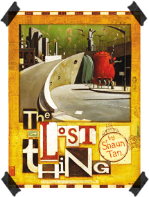 'The Lost Thing' book cover.