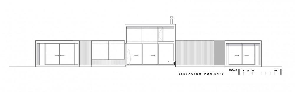 planos, Casa Finger Joint - LAND arquitectos