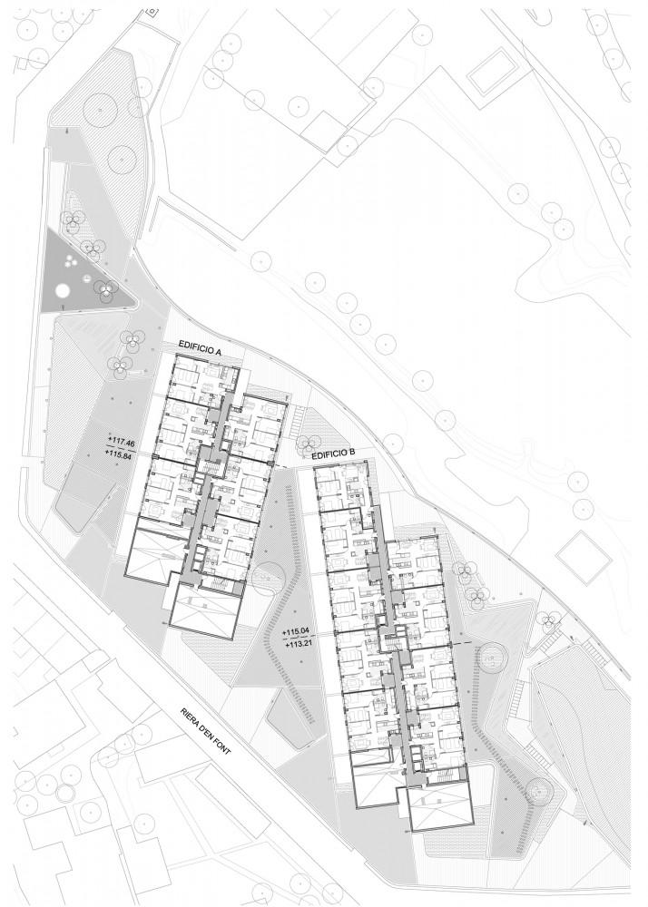 Viviendas Sociales en Can Jordana - Conxita Balcells, Arquitectura, casas, diseño