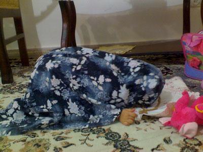 نماز خوندن ریحانه