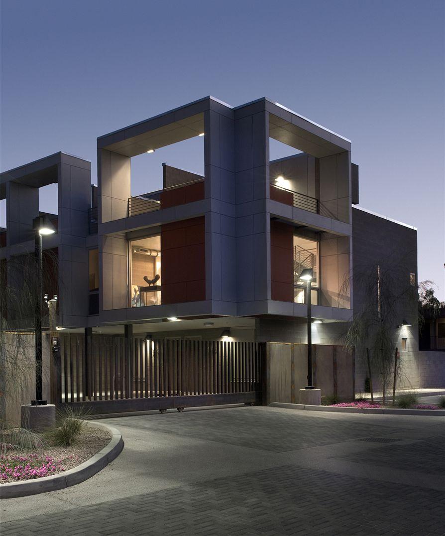 Vivienda Colectiva, Tempe Urban Living, Baldinger Architectural Studio, arquitectura, casas