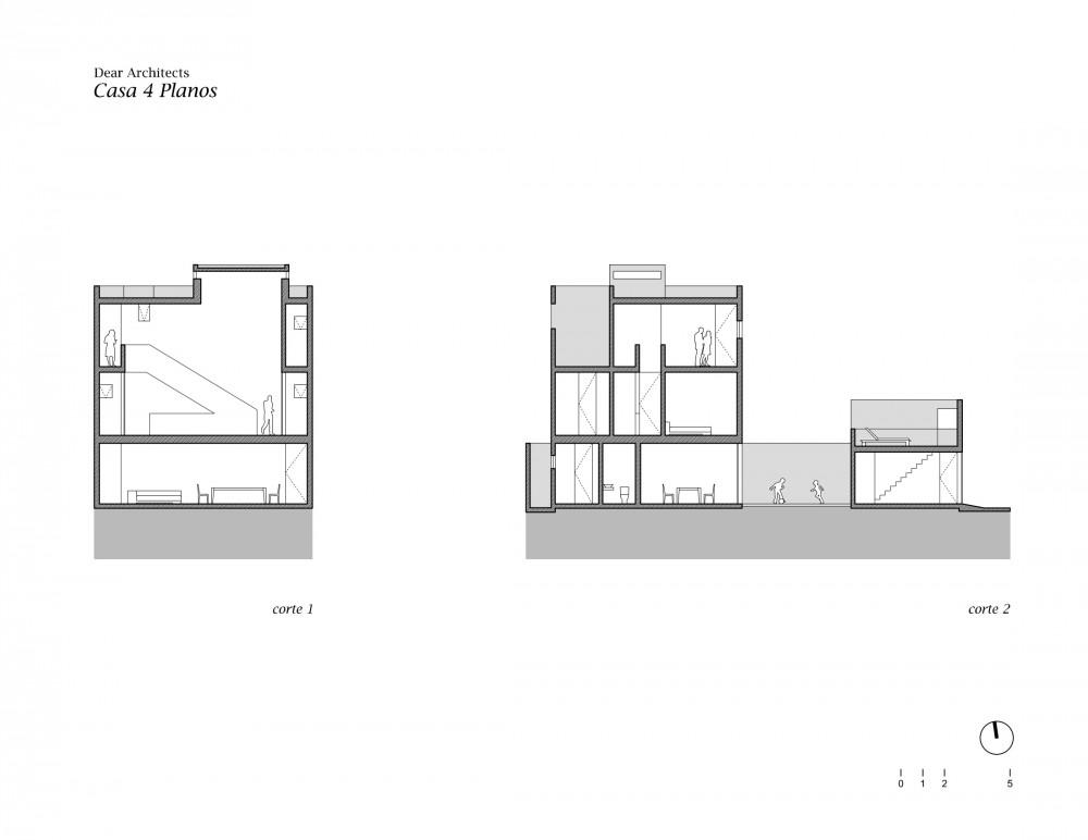 Casa 4 Planos - Dear Architects