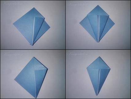 Origami Kranich Anleitung | Kinyoubi desu.