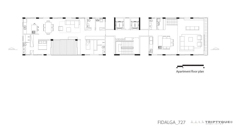 Fidalga 727 - Triptyque
